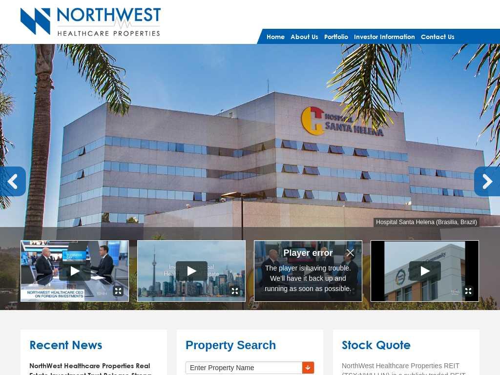 NorthWest Healthcare Properties REIT: Latest News | Tracxn