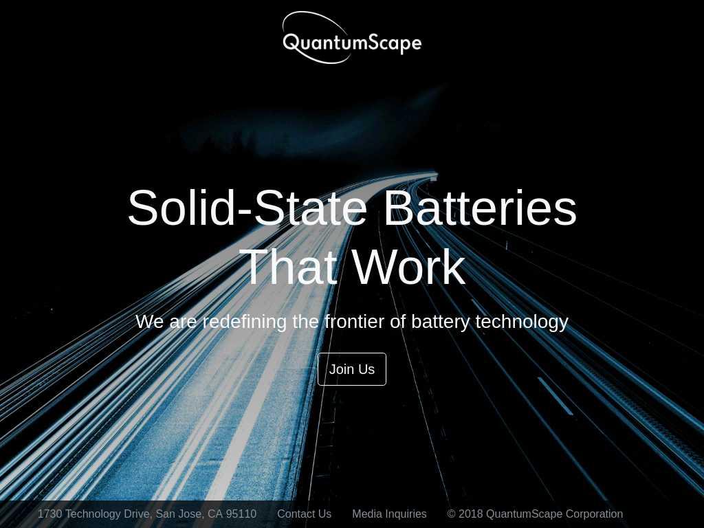 QuantumScape | Tracxn