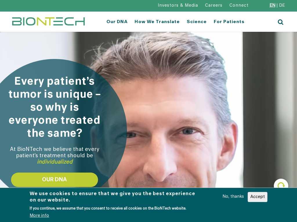 Biontech Latest News Tracxn