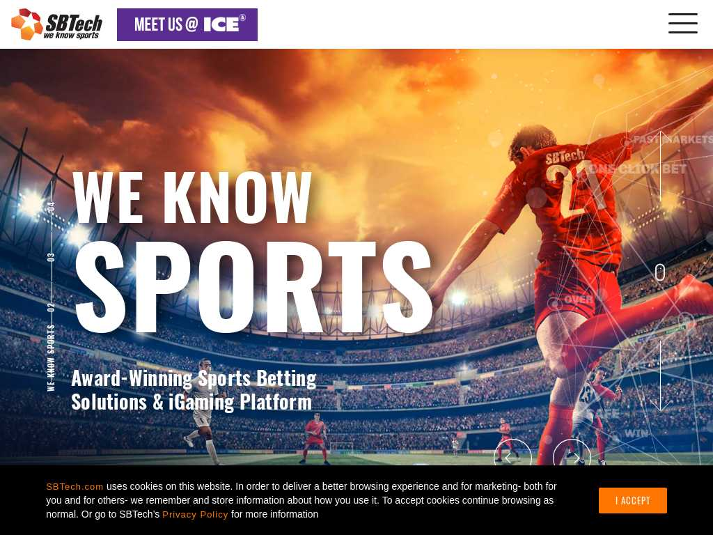 online sports betting advertising award