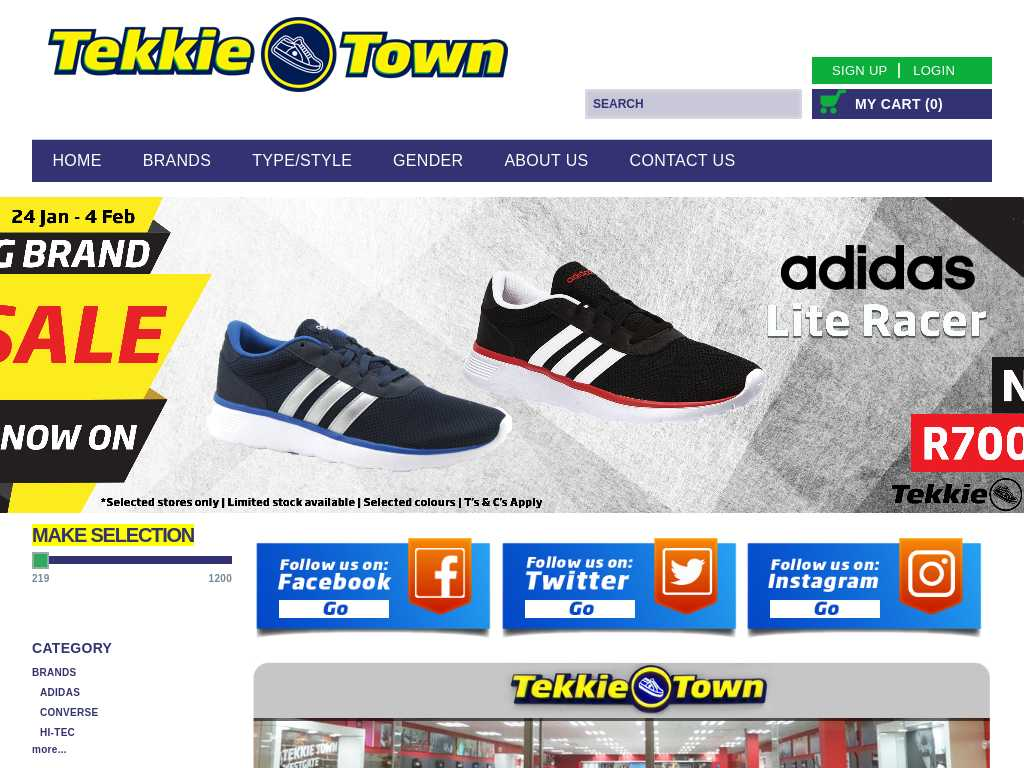 Tekkie Town: Latest News | Tracxn