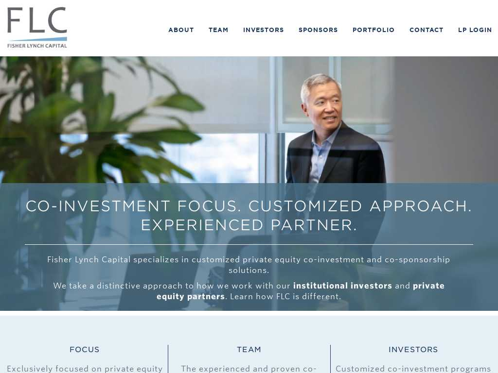 Fisher lynch co-investment partnership invest in index nasdaq