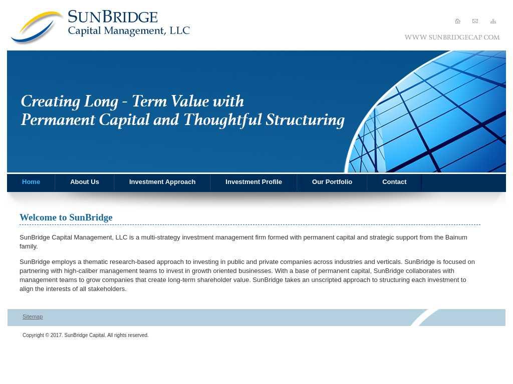 Sunbridge investment management chesbro investments definition
