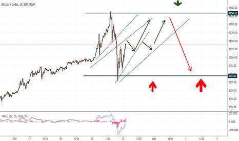 BTCUSD: Bitcoin price action prediction