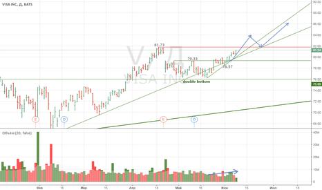 V: VISA INC long investment
