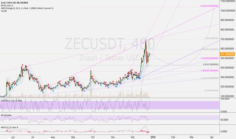 ZECUSDT: ZECUSD 8h: Zcash 1.000 USD - possible Target after Correction