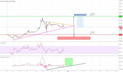 BCHUSD: BITCOIN CASH - Symmetric Triangle Pattern, 100% Profit Potential
