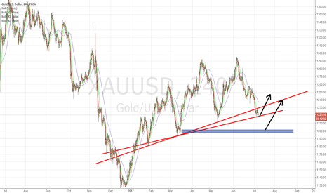 XAUUSD: Long gold at this lever