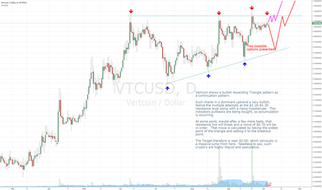 VTCUSD: Vertcoin - Massive upside potential.A hidden gem in the rough?