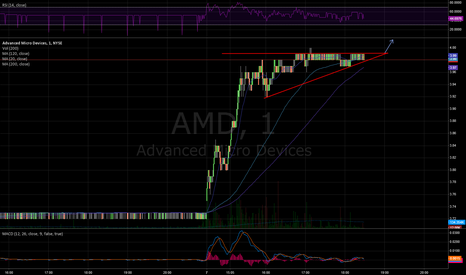 AMD: BULL FLAG