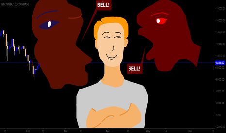 BTCUSD: Media trying to catch Bitcoin investor   Illustration