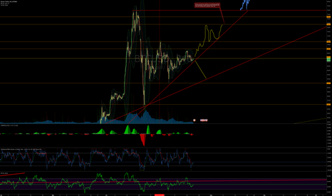 BTCUSD: Bitcoin at an Important Short Term Cross Road