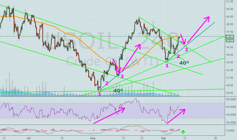 USOIL: US Crude Oil..  MAY TAKE REST HERE..