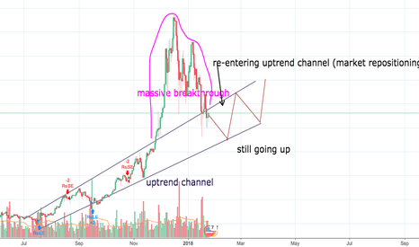 BTCUSD: Why we should not panic now that BTC went down.