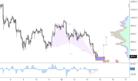 BTCUSD: Bullish Butterfly