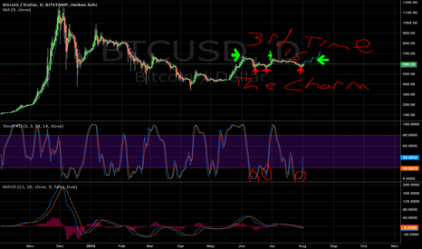 BTCUSD: 3rd time is the charm Medium outlook, first time charting on TV