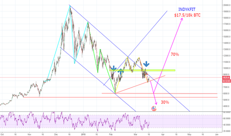 BTCUSD: Bitcoin Collapse or Bitcoin Breakout ?