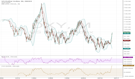DXY: when the market realize there is no rate hike?