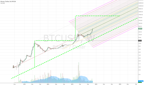 BTCUSD: Bitcoin - allowing for 10 to 20 times growth through 2014