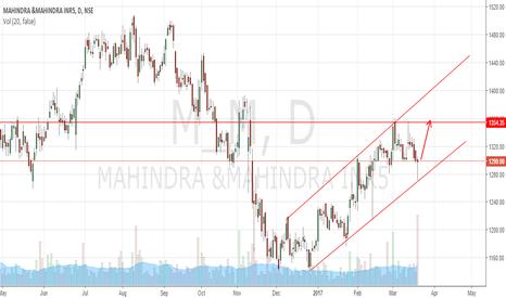 M_M: Mahindra and Mahindra formed bullish hammer