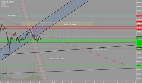 BTCUSD: BTC - Will it enter the land of FUD & Panic ?