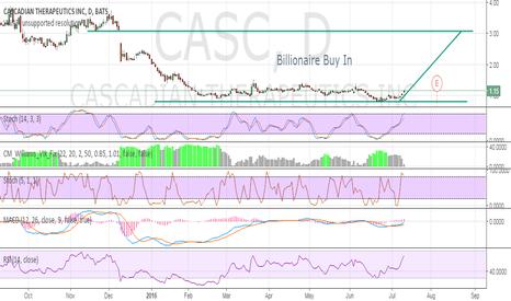 CASC: Billionaire Buy In