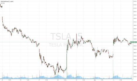 TSLA: Tsla long; target 195,00