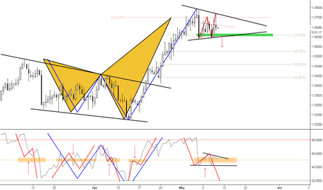 USDCAD: (12h) The 224 Shark