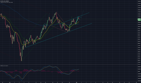 BTCUSD: Possible bull flag forming on BTC
