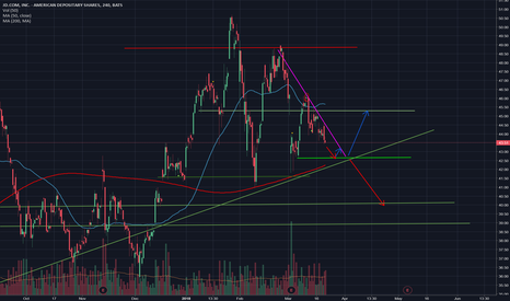 JD: The plan of trading JD