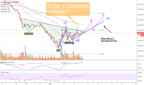 XLMBTC: BEAUTIFUL CHART: Stellar in Supernova Explosion?! (XLMBTC)