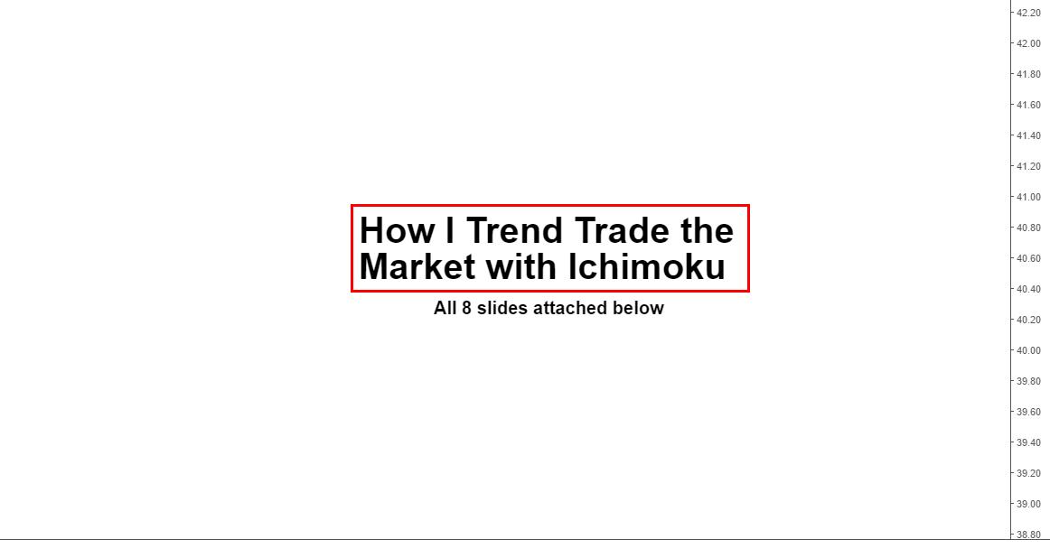Trading with ichimoku (my way)...