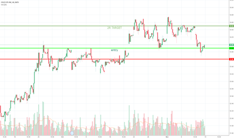 CSCO: Old resistance, new support