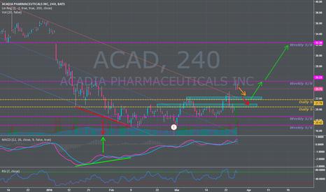 ACAD: Buy Setup on Base with High Volume + Social Buzz