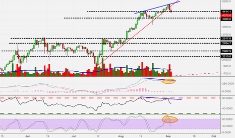 BTCUSD: Tether scam, bitfinex lack of banking and NYA falling apart...
