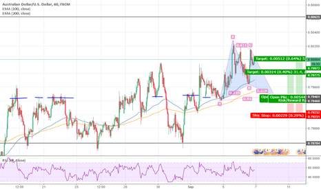 AUDUSD: AUDUSD Gartley Pattern