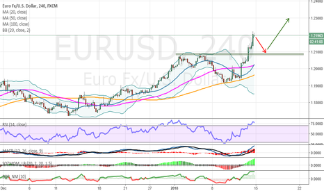 EURUSD: Weekly commentary for EUR / USD pair on November 14-19