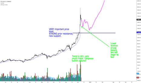 BTCUSD: Next projections on bitcoin