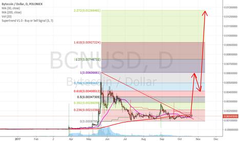 BCNUSD: Bytecoin Long