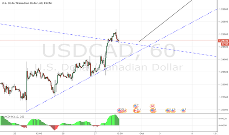 USDCAD: USDCAD - Daily/4 Hour Long