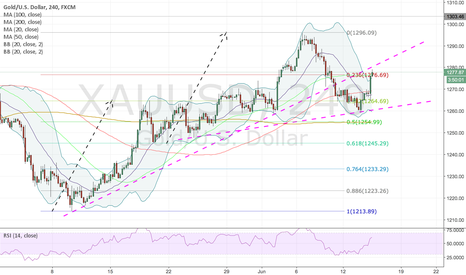 XAUUSD: Gold Not So Fast