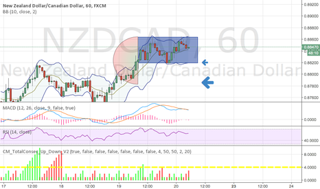 NZDCAD: NZD/CAD - Double top on hourly