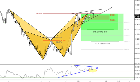 XAUUSD: (2h) Golden Bears // Crab and Bat Patterns at higher divergence