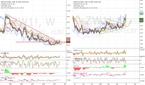 ZW1!: Start of a new long term bullish trend