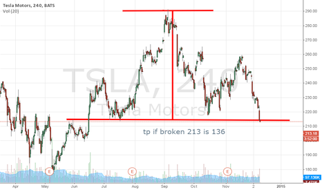 TSLA: bearish figure