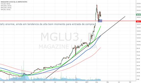 MGLU3: MGLU3 Diario