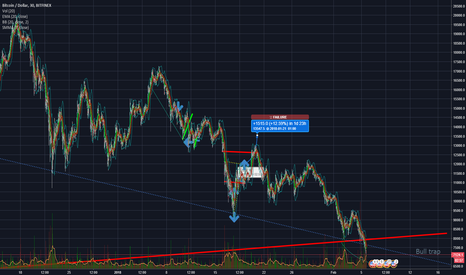 BTCUSD: Bull trap prediction ? maybe..