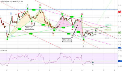 GDX: Expected reverse along with Gold
