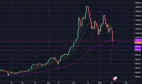BTCUSD: 2018 Bear market? Is Wall Street Shorting BTC to get in cheap?
