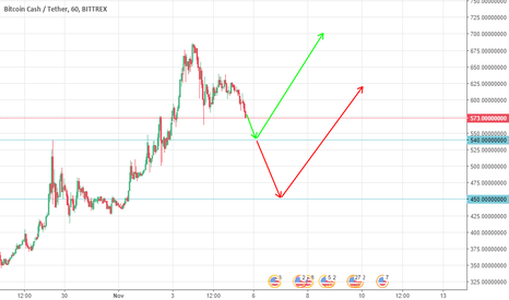 BCCUSDT: Bitcoin Cash Buy 540 and 450
